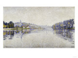 The Seine at Herblay, c.1889 Giclee Print by Paul Signac