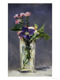 Ragged Robins and Clematis, c.1882 Giclee Print by &#201;douard Manet