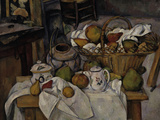 Still-Life with Fruit Basket, c.1888 Giclee Print by Paul C&#233;zanne
