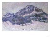 Mount Kolsaas in Norway, c.1895 Posters by Claude Monet