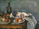Still-Life with Onions, c.1895 Giclee Print by Paul Cézanne