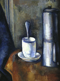 Woman with a Coffee Pot, c.1890-95 (detail) Posters by Paul Cézanne