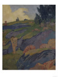 Breton Eve or Melancholy, c.1891 Art by Paul Serusier