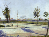 Road to Gennevilliers, c.1883 Prints by Paul Signac