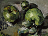 Green Apples, c.1873 Giclee Print by Paul Cézanne