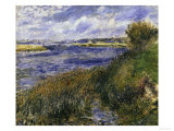 The Seine at Champrosay, c.1876 Prints by Pierre-Auguste Renoir