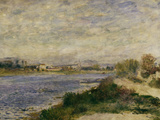 The Seine at Argenteuil, c.1873 Print by Pierre-Auguste Renoir