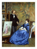 In the Artist's Studio Reproduction procédé giclée par Gustave Leonhard de Jonghe