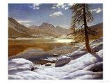 Moonlit Lake Giclee Print by Ivan Fedorovich Choultse