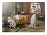 Willing Helper Giclee Print by George Goodwin Kilburne