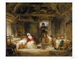 The Woodcutter's Cottage Giclee Print by Frederick Goodall