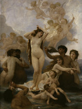 The Birth of Venus, c.1879 Posters par William Adolphe Bouguereau