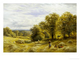 Haymaking Giclee Print by Alfred Augustus Glendenning