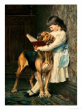 Naughty Boy! Giclee Print by Charles Burton Barber