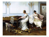 Fantasia in White, c.1854 Giclee Print by Albert Ludovici