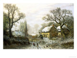 Kingston, Somerset Giclee Print by Charles Leaver