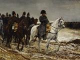 Campagne de France Napoleon, c.1864 Posters by Jean-Louis Ernest Meissonier