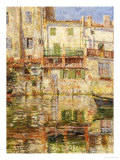 Water Impressions, les Martigues Giclee Print by Omer Coppens