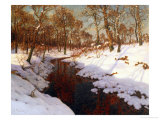 November Evening, c.1923 Giclee Print by Ivan Fedorovich Choultse