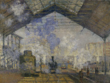 Gare Saint-Lazare, c.1877 Posters by Claude Monet