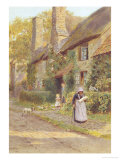Cottage Doorway, c.1891 Giclee Print by William Egerton Hine