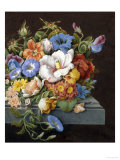 Still Life with Flowers Giclee Print by J. Kray