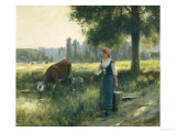 In the Meadow Giclee Print by Julien Dupre