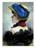 Pretty as a Picture Giclee Print by Vittorio Corcos