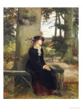 The Tryst Giclee Print by William Holyoake