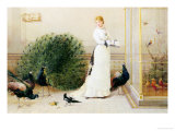 In the Conservatory Giclee Print by Heywood Hardy