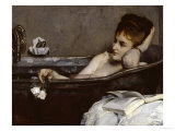The Bath, c.1867 Print by Alfred Georges Stevens