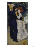 Country Dance, c.1883 Prints by Pierre-Auguste Renoir