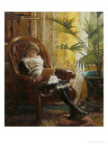 Quiet Read Giclee Print by Alfred Augustus Glendenning