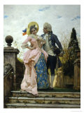 Courtship Giclee Print by Federigo Andreotti