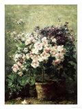 Floral Composition Giclée-Druck von Hubert Bellis