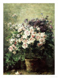 Floral Composition Giclee Print by Hubert Bellis