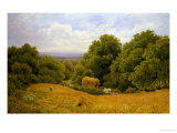 Conyhurst Looking Towards Shoreham Gap, Surrey Giclee Print by Clayton Adams