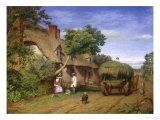 Refreshment Along the Road, Northwick, c.1858 Giclee Print by Edwa Davis
