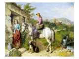 Arriving Home Giclee Print by Isaac Henzell