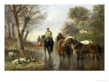 Homeward Bound Giclee Print by John Frederick Herring II