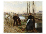Chance Encounter Giclee Print by Adolphe-gustave Binet