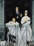 The Balcony, c.1868 Giclee Print by Édouard Manet