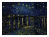 Starry Night over the Rhone, c.1888 Giclee Print by Vincent van Gogh