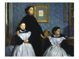 The Bellelli Family, c.1858 Posters by Edgar Degas
