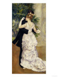 City Dance, c.1883 Reproduction procédé giclée par Pierre-Auguste Renoir