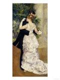 City Dance, c.1883 Poster von Pierre-Auguste Renoir