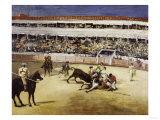 Bullfight, c.1865 Prints by Édouard Manet