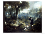 Pheasant Shooting in the Forest Giclee Print by S.j.e. Jones