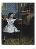 The Bellelli Family, c.1858 Giclee Print by Edgar Degas