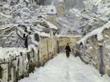 Snow in Louveciennes, c.1878 Giclee Print by Alfred Sisley